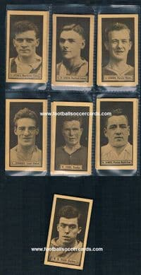 1925 rookie of Dixie Dean & the full set of cards by Rover